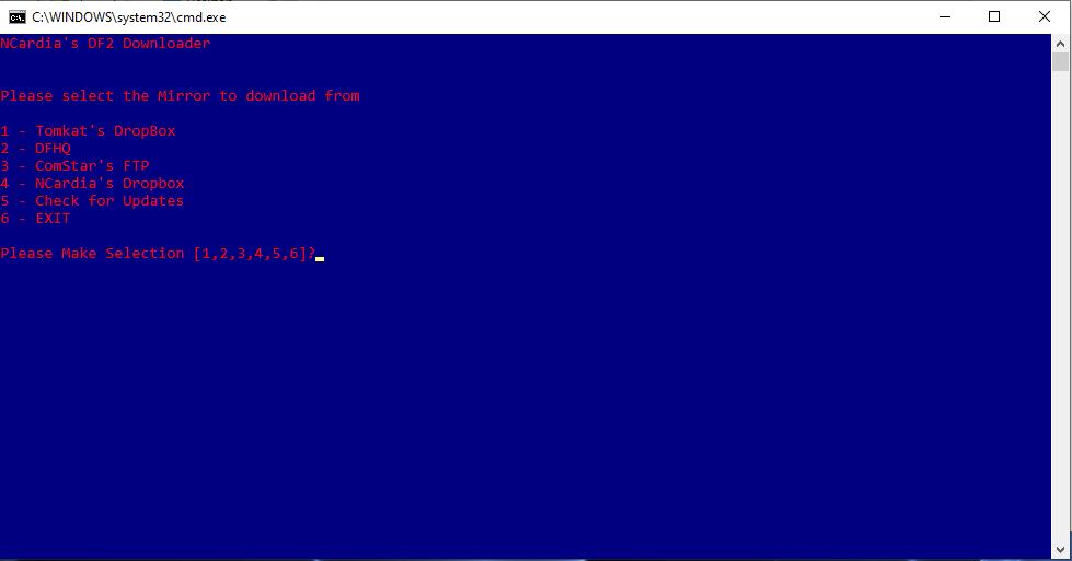 NC's DF2 Downloader
